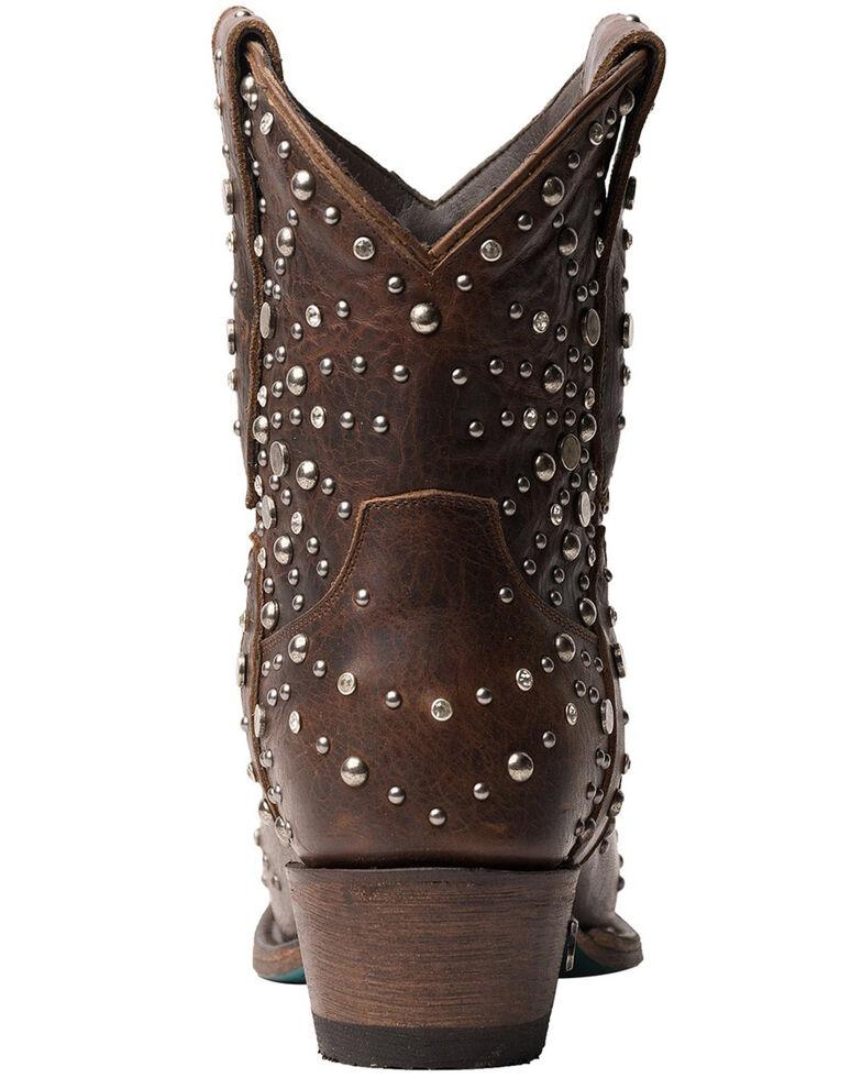 Lane Women's Sparks Fly Fashion Booties - Snip Toe, Cognac, hi-res