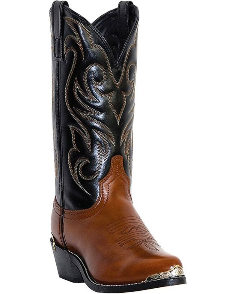 Laredo Men's Nashville Cowboy Boots - Medium Toe, Peanut, hi-res