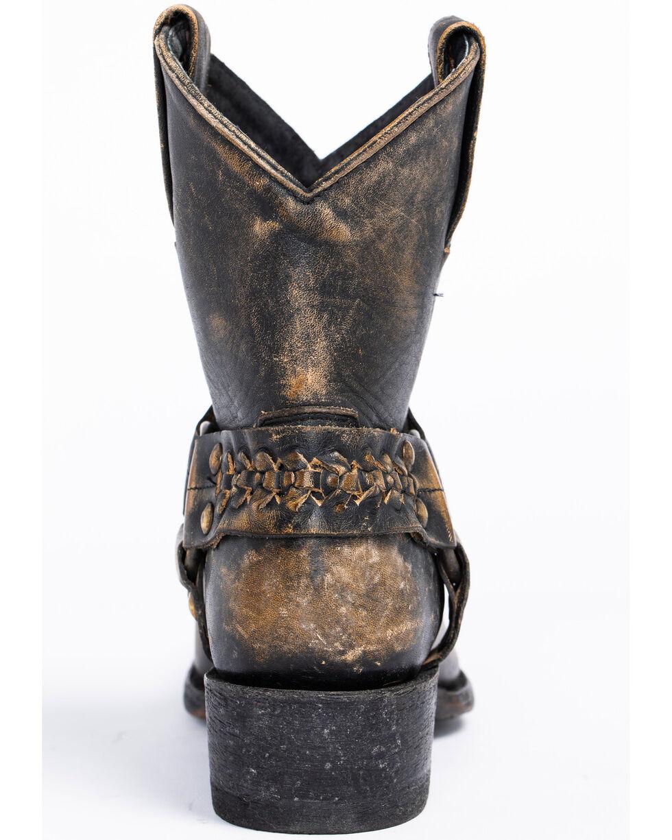 Idyllwind Women's Rocker Western Booties - Square Toe, Black, hi-res
