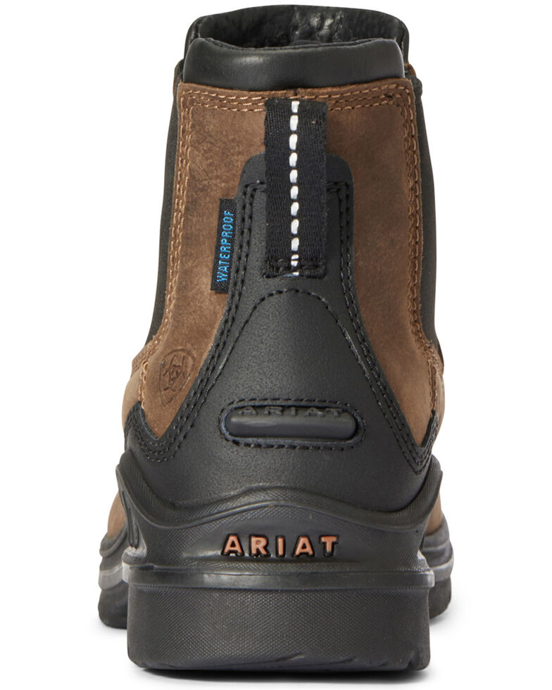 Ariat Women's Barnyard Twin Gore Boots - Round Toe, Brown, hi-res