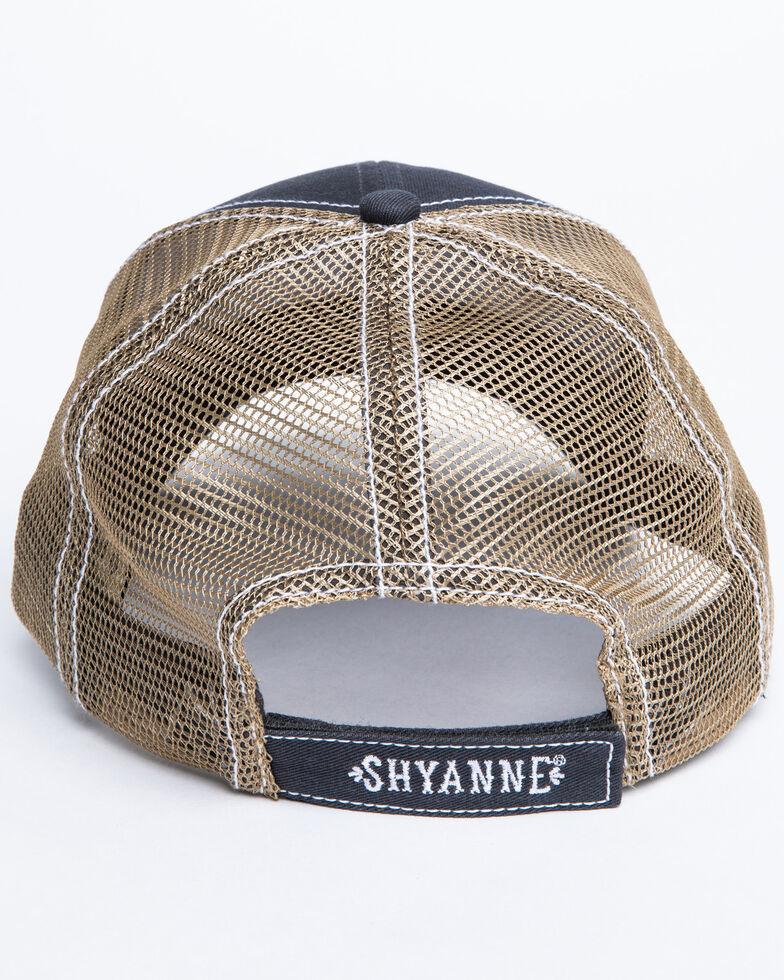 Shyanne Women's Rodeo Queen Patch Mesh Cap , Grey, hi-res