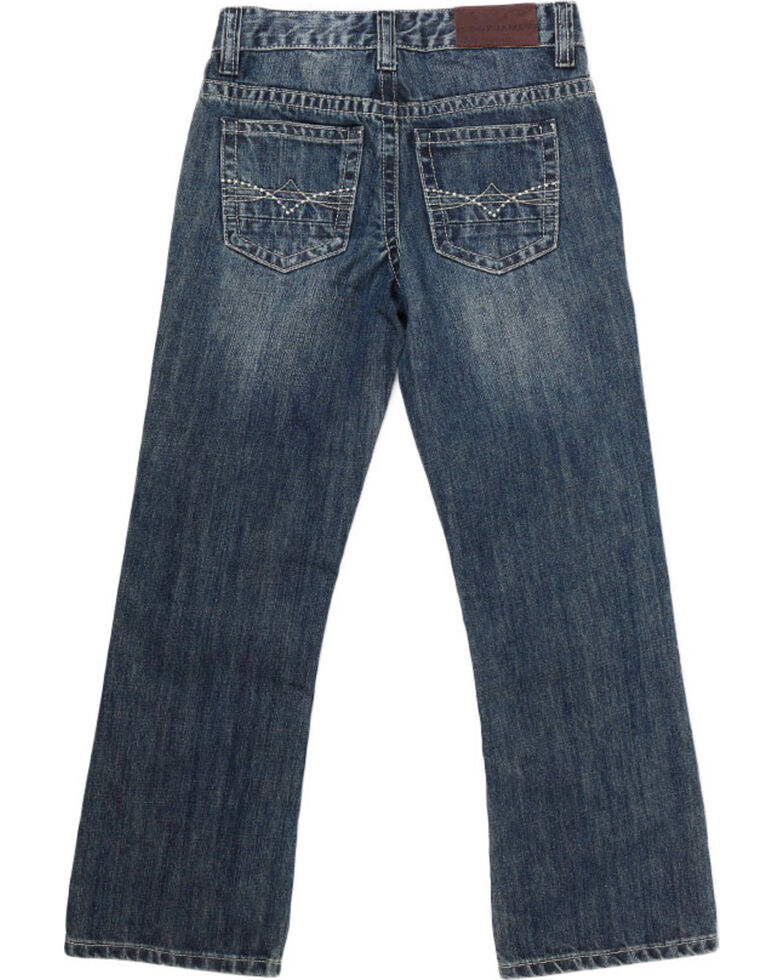 Cody James Big Boys' Dusty Trail Bootcut Jeans, Blue, hi-res