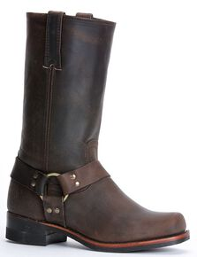 fab14d18a14973 Frye Men's Harness Engineer 12R Boots - Square Toe