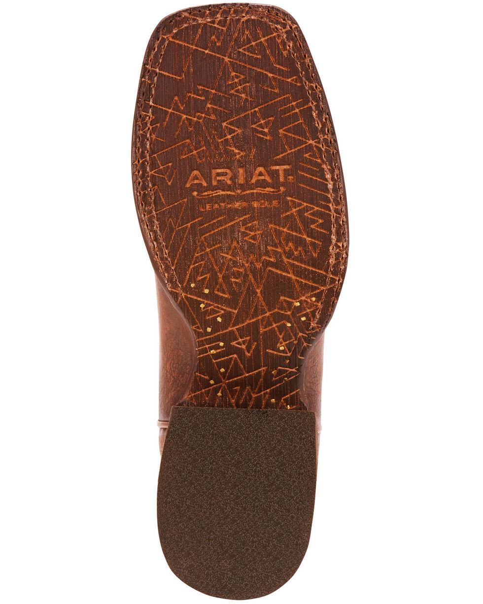 Ariat Women's Circuit Cisco Kickin Cocoa Cowgirl Boots - Square Toe, Dark Brown, hi-res
