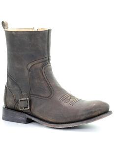 Corral Men's Brown Zipper Western Boots - Round Toe, Brown, hi-res