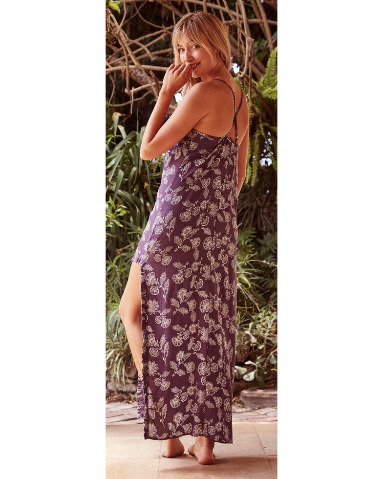Sage the Label Women's Purple Isle of Capri Maxi Dress , Purple, hi-res