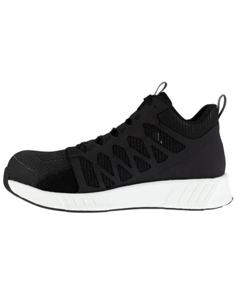 Reebok Men's Fusion Flexweave Work Shoes - Composite Toe, Black, hi-res