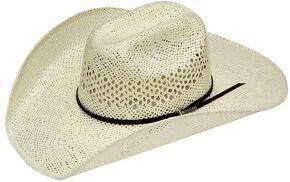 Twister Weave Maverick Straw Cowboy Hat, Natural, hi-res