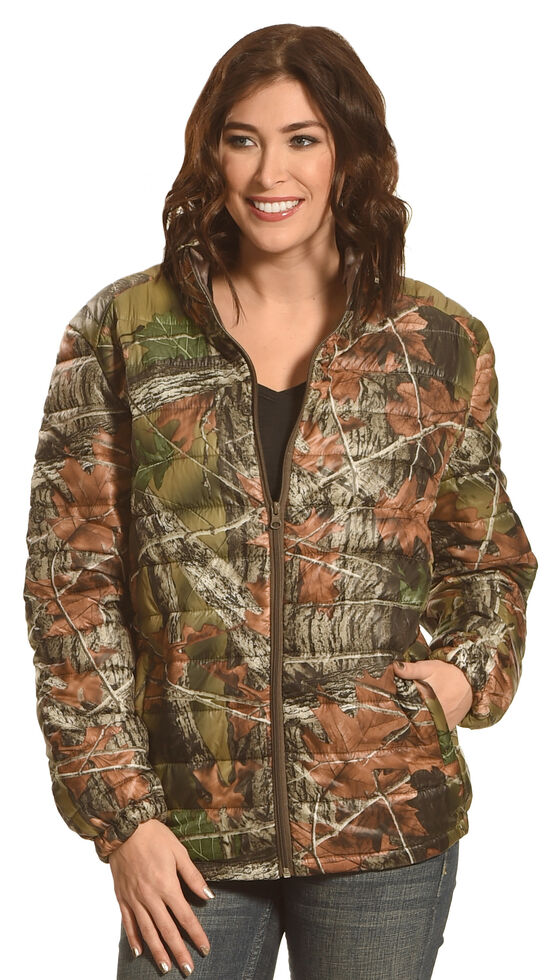 Trail Crest Womens Ultra Thurmic Silk Padded Quilted Jacket