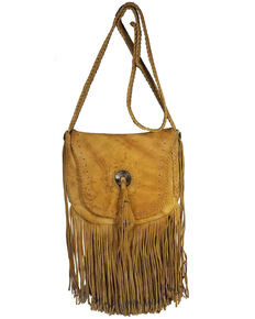 Kobler Leather Concho and Flutted Beads Bag, Beige/khaki, hi-res