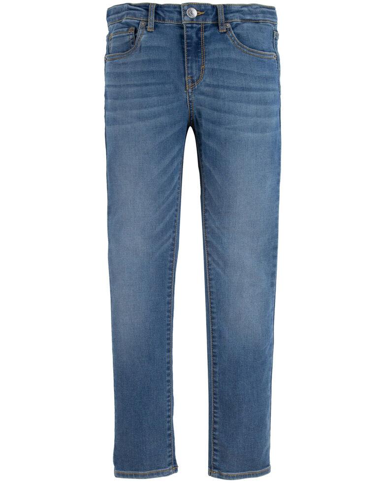 Levi's Girls' 711 Indigo Ray Skinny Leg Jeans - Slim, Blue, hi-res
