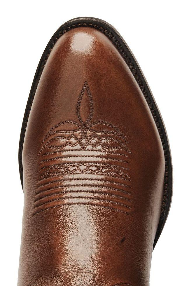 Lucchese Handmade Lonestar Calf Cowboy Boots - Medium Toe, Brown, hi-res