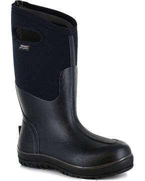 Bogs Men's Classic Ultra High Insulated Boots - Round Toe, Black, hi-res
