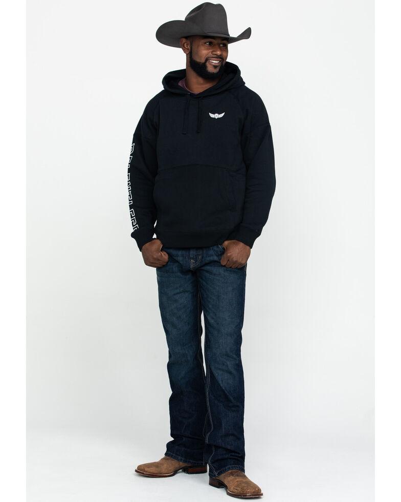 Ariat Men's Black Relentless Logo Hooded Sweatshirt , Black, hi-res