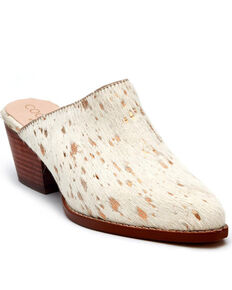 Matisse Women's Gold Spot Mules - Round Toe, Gold, hi-res