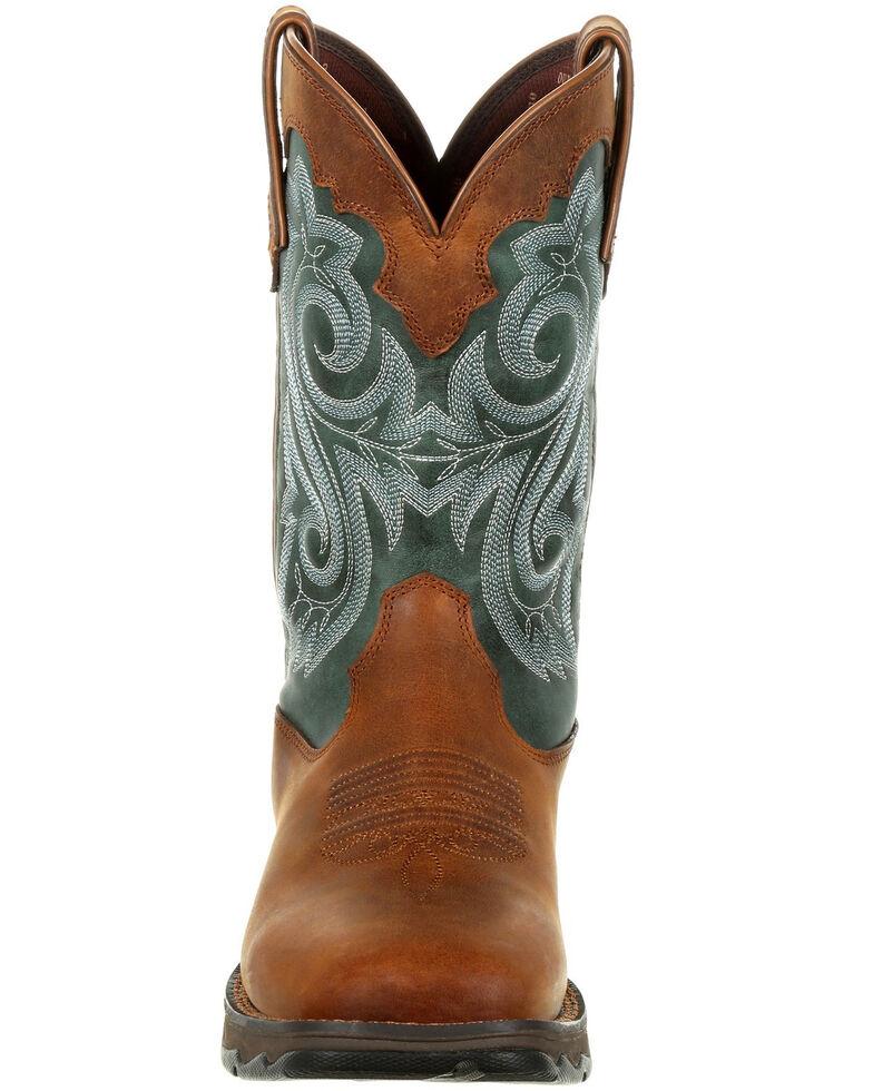 Durango Women's Lady Rebel Waterproof Western Boots - Square Toe, Brown, hi-res