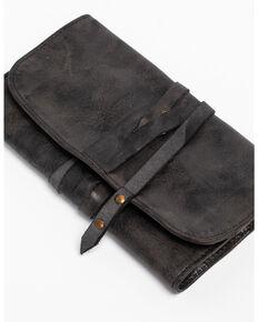Idyllwind Women's Traveler Black Leather Wallet, Black, hi-res
