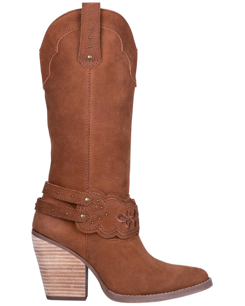 Dingo Women's Calamity Western Boots - Pointed Toe, Tan, hi-res