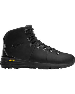 Danner Men's Black Mountain 600 Boots - Round Toe , Black, hi-res