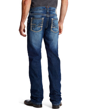 Ariat Men's M5 Ryker Bay Low Rise Slim Jeans - Straight Leg , Indigo, hi-res