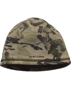 Under Armour Men's Scent Control Storm Fleece Camo Beanie, Camouflage, hi-res