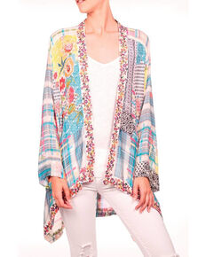 Johnny Was Women's Solomio Kimono, Multi, hi-res