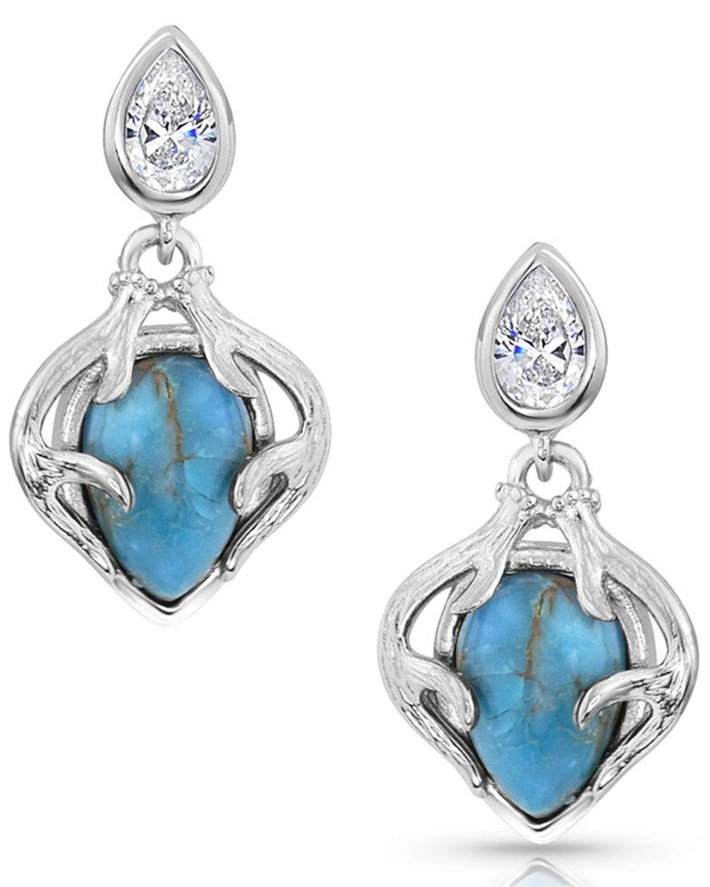 Montana Silversmiths Women's Timeless Treasure Earrings, Silver, hi-res