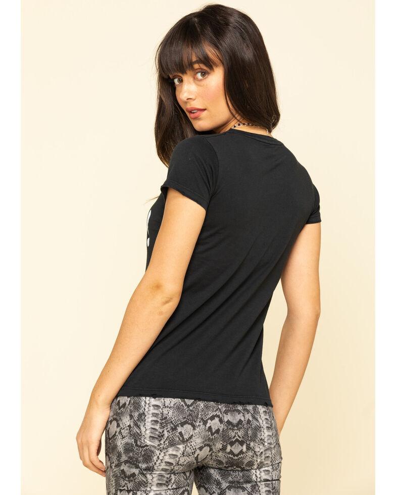 Bandit Brand Women's Hey Cowboy Graphic Short Sleeve Tee , Black, hi-res