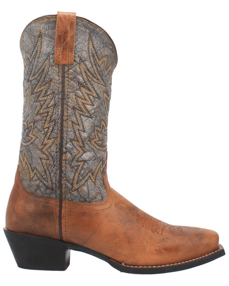 Laredo Men's Alfred Western Boots - Wide Square Toe, Tan, hi-res