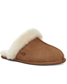 UGG Women's Scuffette II Slippers, Chestnut, hi-res