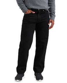 Levis Men's 550 Black Relaxed Fit Jeans -Big & Tall , Black, hi-res