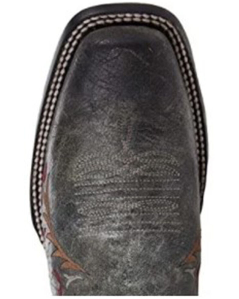 Corral Women's Black Skull Overlay Western Boots - Snip Toe, Black, hi-res