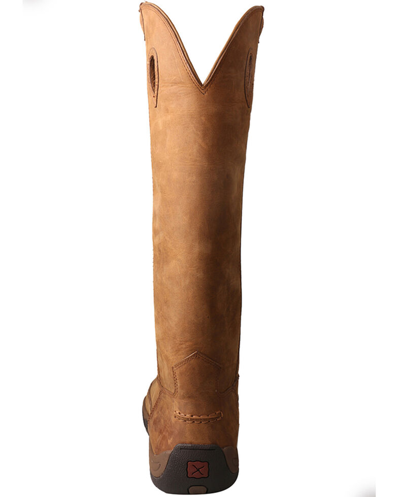 """Twisted X Men's 17"""" Viperguard Waterproof Snake Boots, Brown, hi-res"""