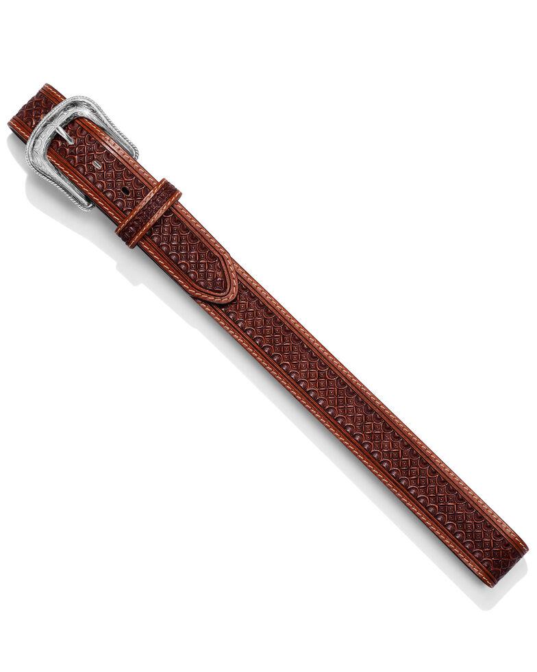 Leegin Men's Diamondback Western Belt, Brown, hi-res