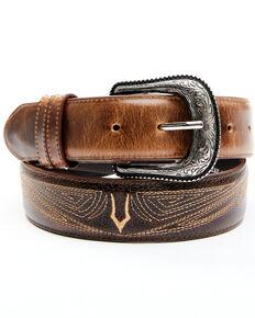 Cody James Men's Honey Western Belt, Honey, hi-res