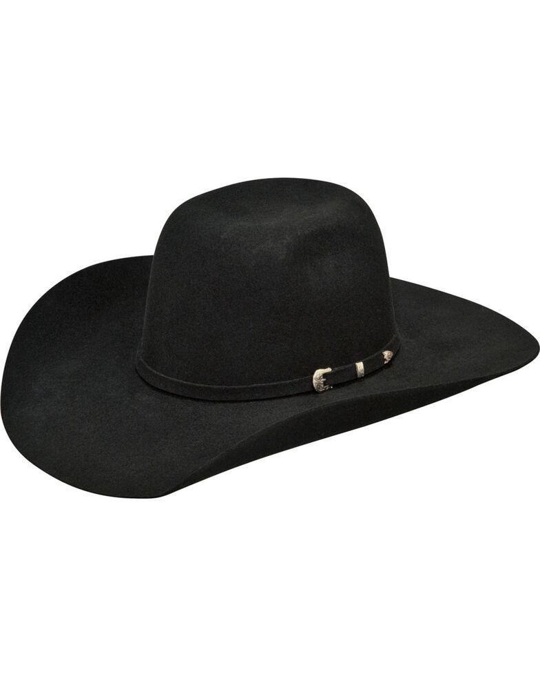 Ariat Boys' Wool High Crown Cowboy Hat , Black, hi-res