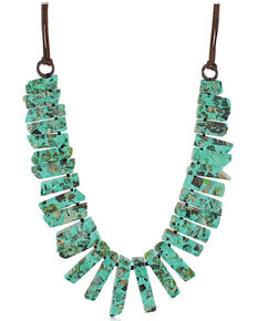 Montana Silversmiths Women's Jade's Chunky Necklace, No Color, hi-res