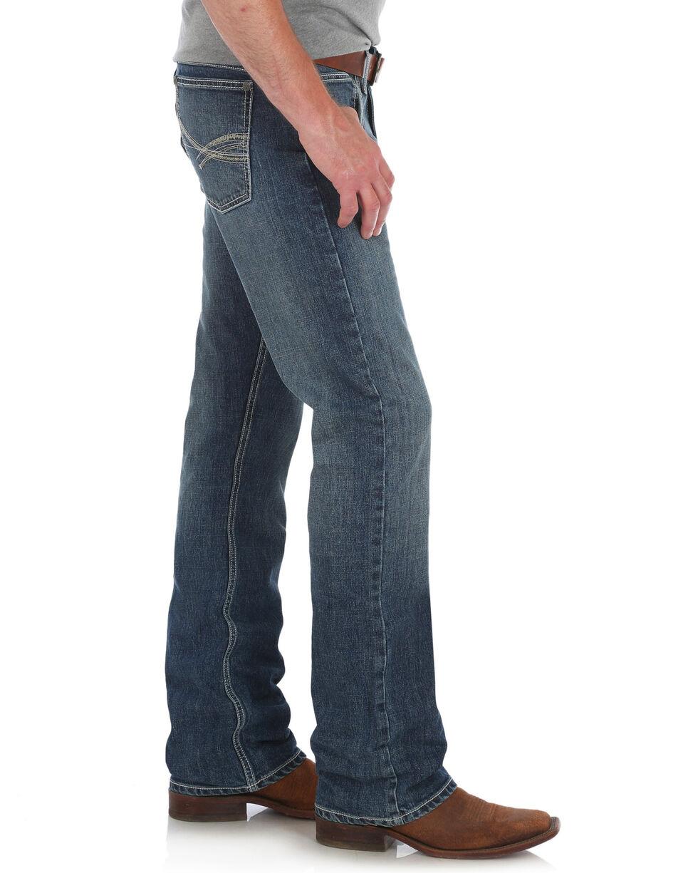 Wrangler 20X Men's No. 42 Vintage Boot Cut Jeans - Long, Blue, hi-res