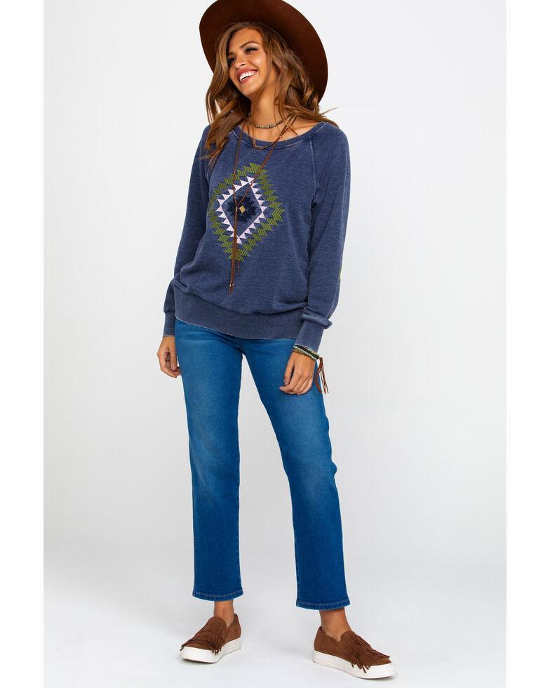 Ariat Women's Kimi Sweatshirt, Navy, hi-res