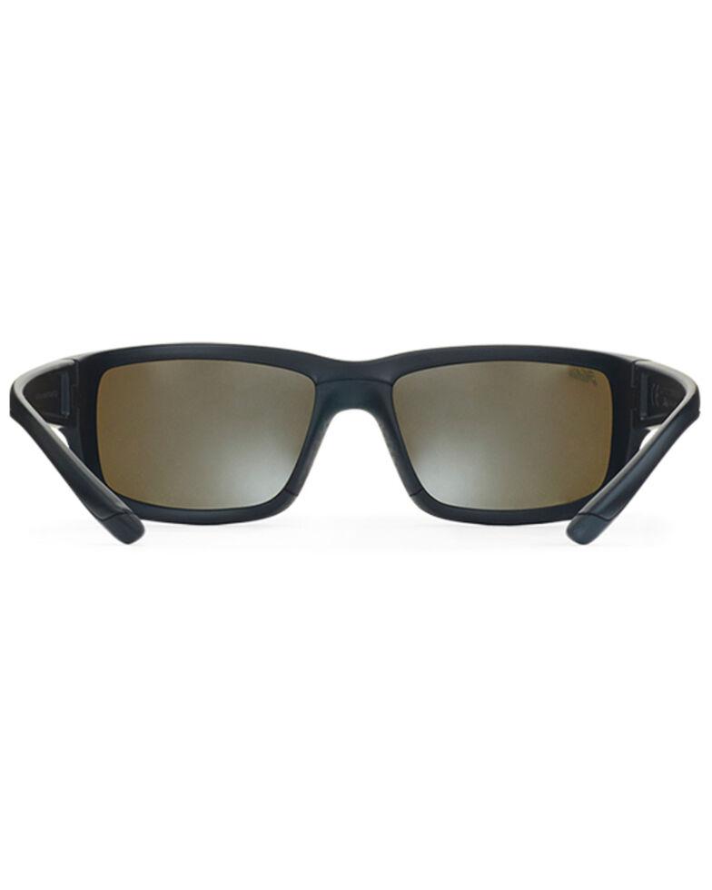 Hobie Men's Snook Satin Black & Grey Polarized Sunglasses , Black, hi-res