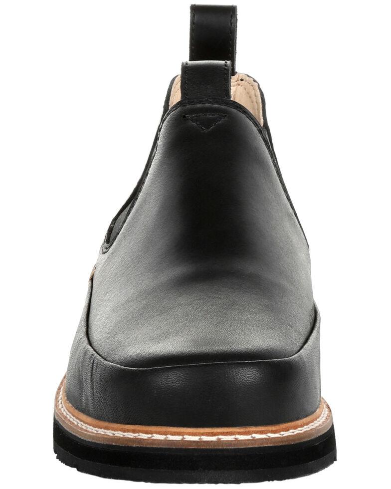 Georgia Boot Men's Small Batch Romeo Shoes - Round Toe, Black, hi-res