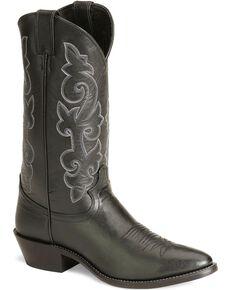 fc2bbe2bdc9 Justin London Calfskin Cowboy Boots - Medium Toe