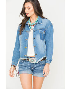 Sage the Label Women's Route 66 Jacket, Indigo, hi-res