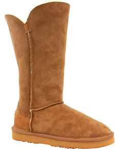 "Lamo Footwear Women's Liberty 12"" Boots , Chestnut, hi-res"