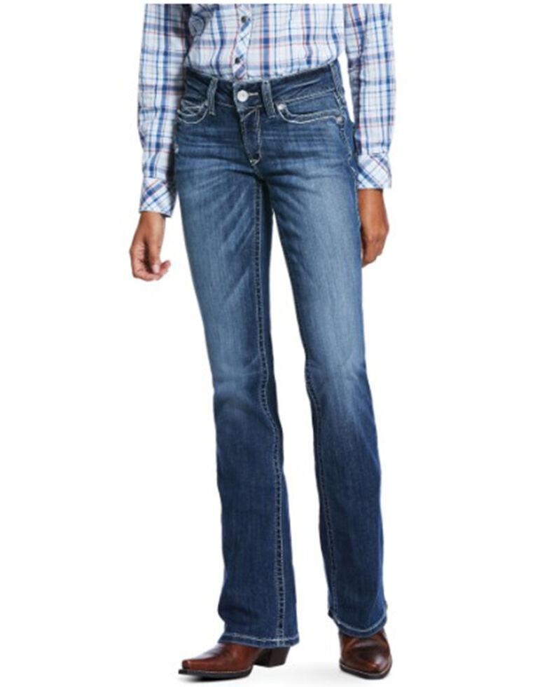 Ariat Women's Natalia Bootcut Jeans, Blue, hi-res