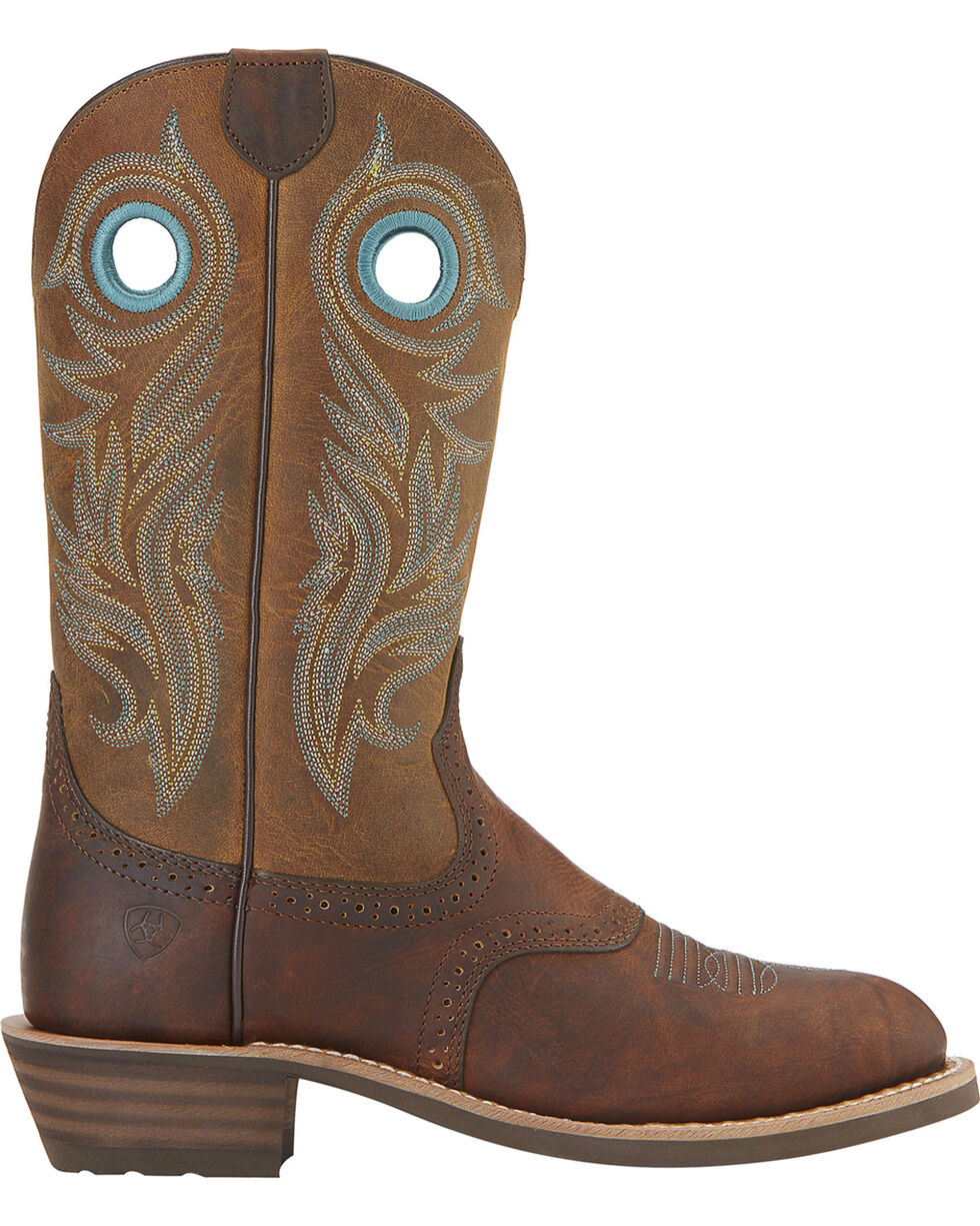 Ariat Women's Shadow Rider Boots - Round Toe, Brown, hi-res
