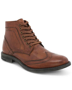 Evolutions Men's Tan Outlaw II Lace-Up Boots - Round Toe, Tan, hi-res