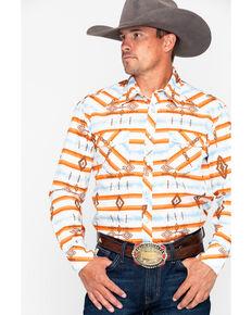 74db7b7bca454 Rock   Roll Cowboy Aztec Print Long Sleeve Western Shirt