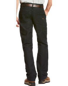Ariat Men's FR M4 Black Workhorse Work Pants - Big , Black, hi-res