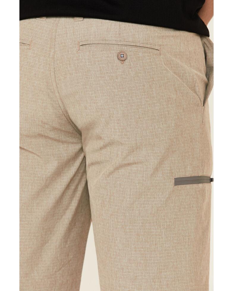 Flag & Anthem Men's Mini Stripe Made Flex Hybrid Shorts , Beige/khaki, hi-res